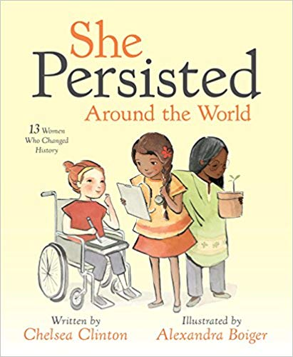 'She Persisted Around the World' cover