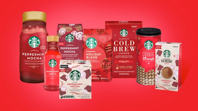 Starbucks holiday products