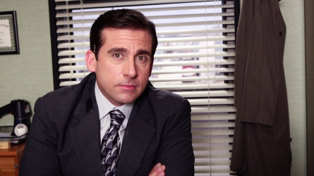 The Office Steve Carell as Michael