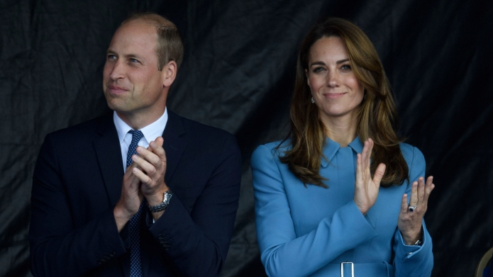Prince William and Duchess of Cambridge