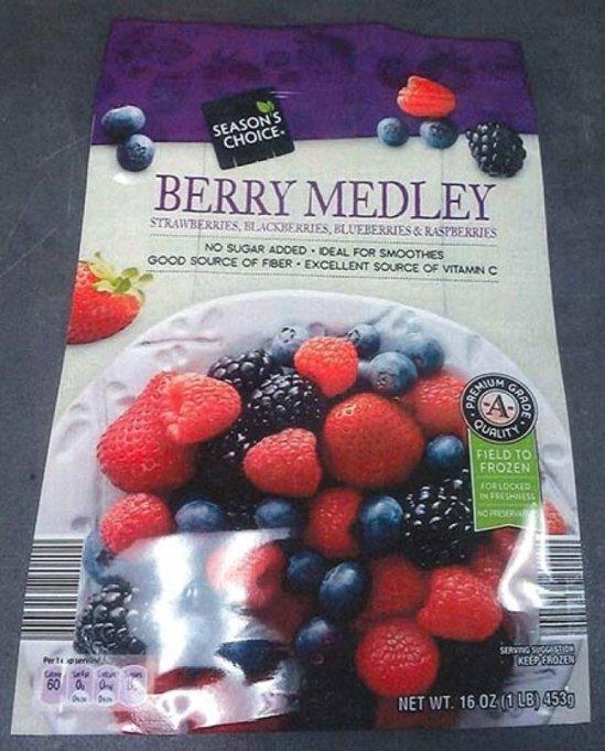 Aldi frozen berries