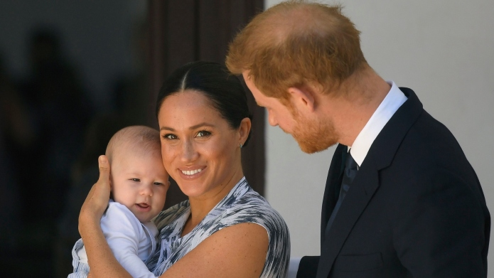 Meghan Markle, baby Archie and Prince
