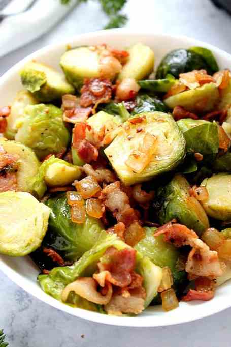Instant Pot Bacon Brussels Sprouts