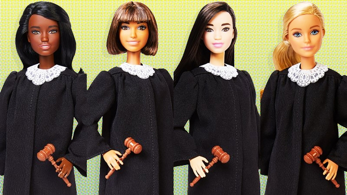 Barbie judge career