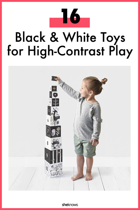 Black and White Toys and Books