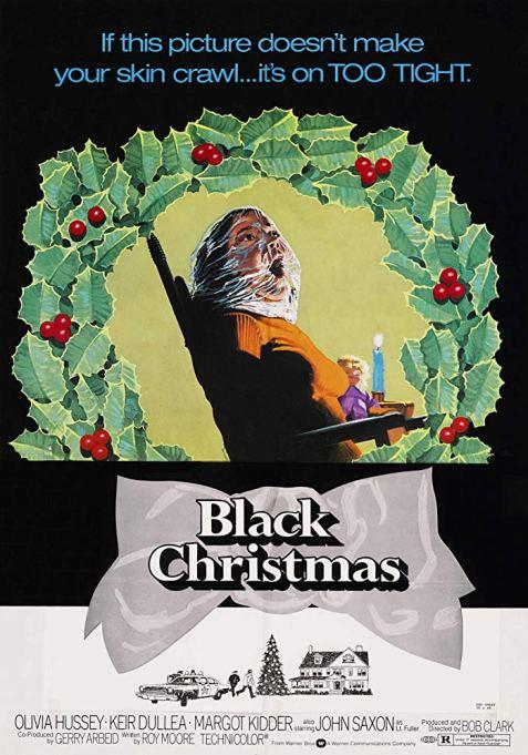 'Black Christmas' (1974) movie poster.
