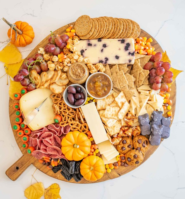 Halloween grazing board