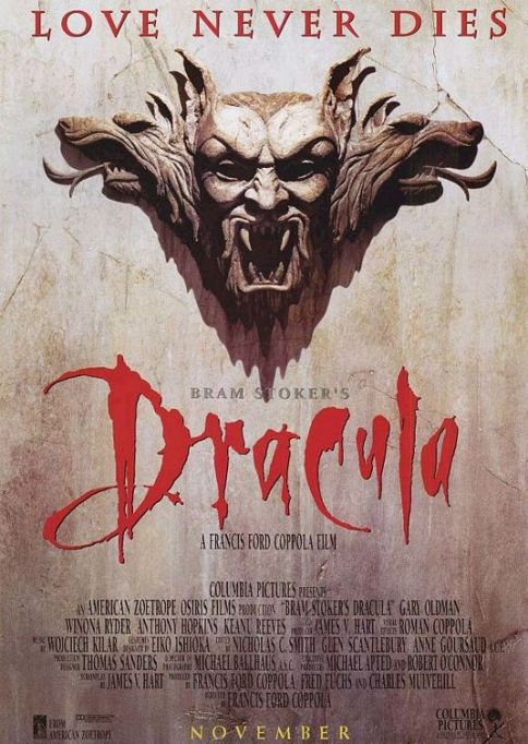 'Bram Stoker's Dracula' (1992) movie poster.