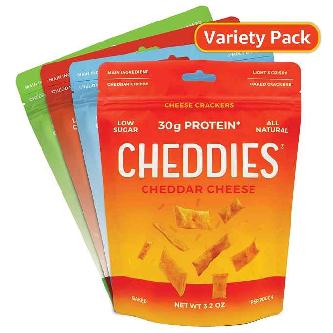 Cheddies Cheese Crackers