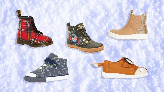 cold weather kids shoes