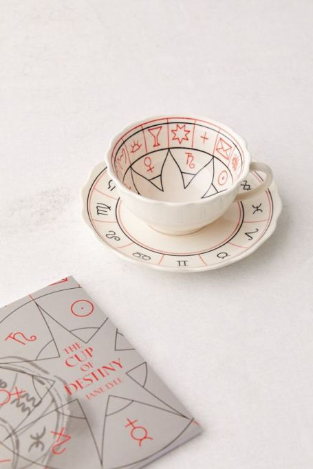The Cup of Destiny book and teacup set at Urban Outfitters