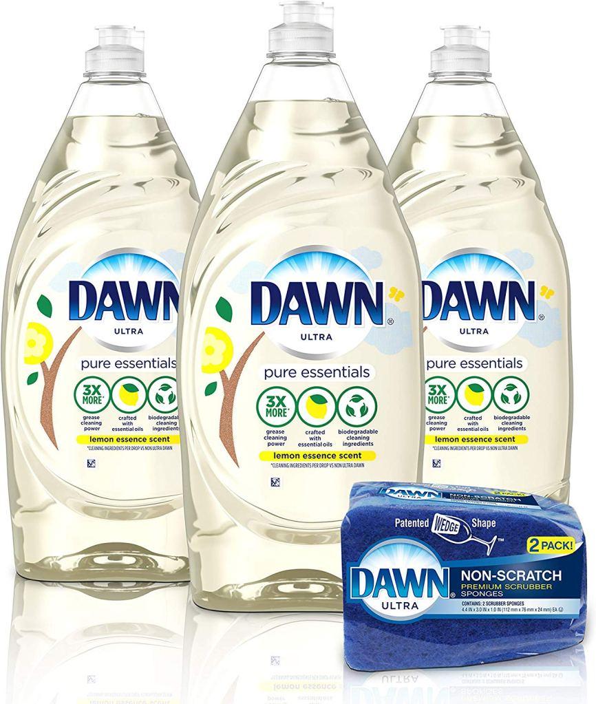 Dawn Pure Essentials Dishwashing Liquid Dish Soap