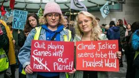 Extinction Rebellion Nurse-In Activists
