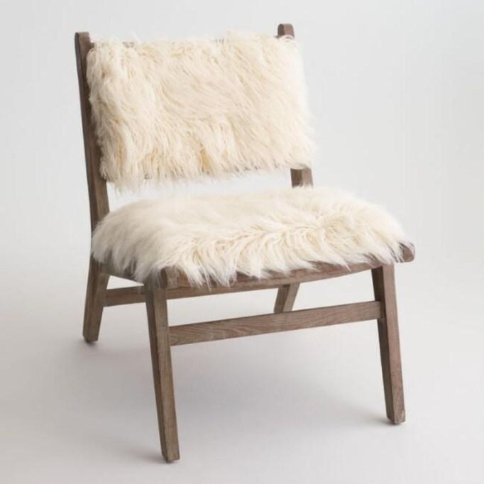 Flokati Chair.