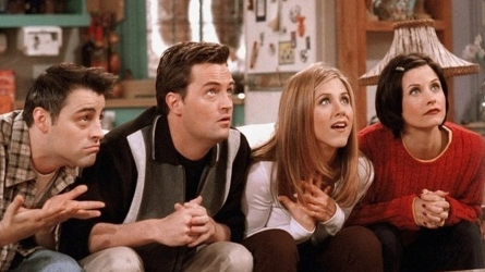 'Friends' scene.