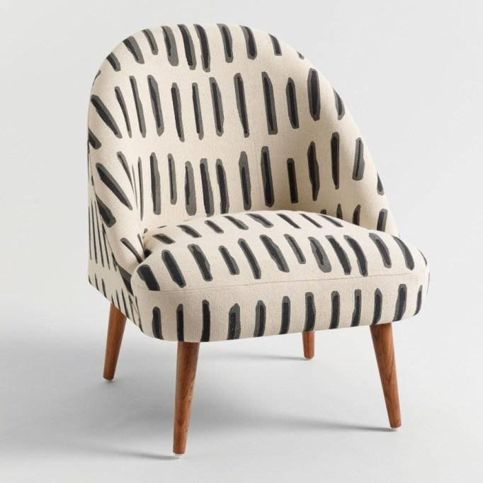 Dash-Print Noemi Tub Chair.