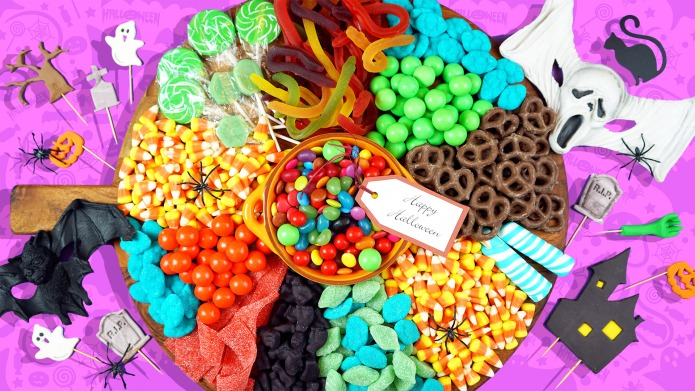 Colorful Happy Halloween trick or treat