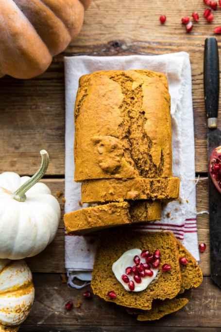 Healthy Pumpkin Gingerbread