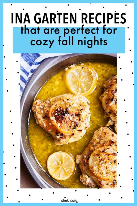 Fall Recipes from Ina Garten: Lemon Baked Chicken
