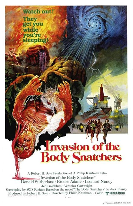 'Invasion of the Body Snatchers' (1978) movie poster.
