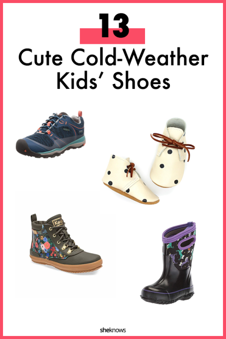 Kids fall shoes