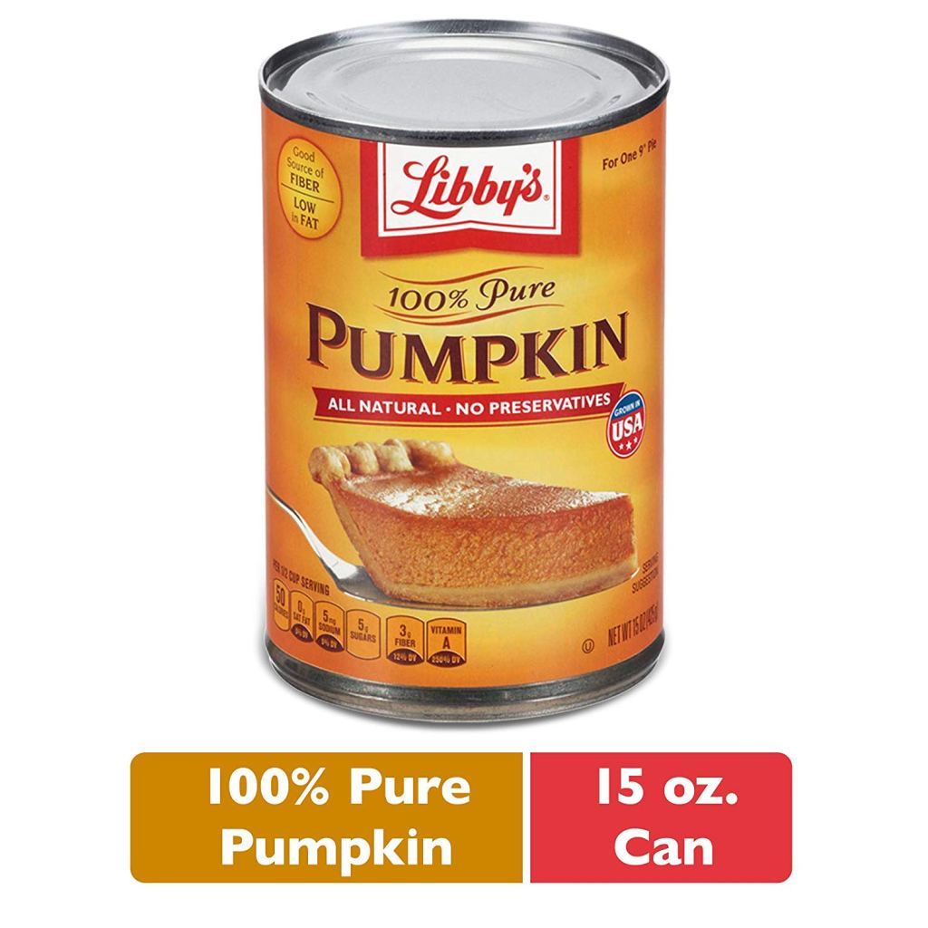 LIBBY'S 100% Pure Canned Pumpkin Puree