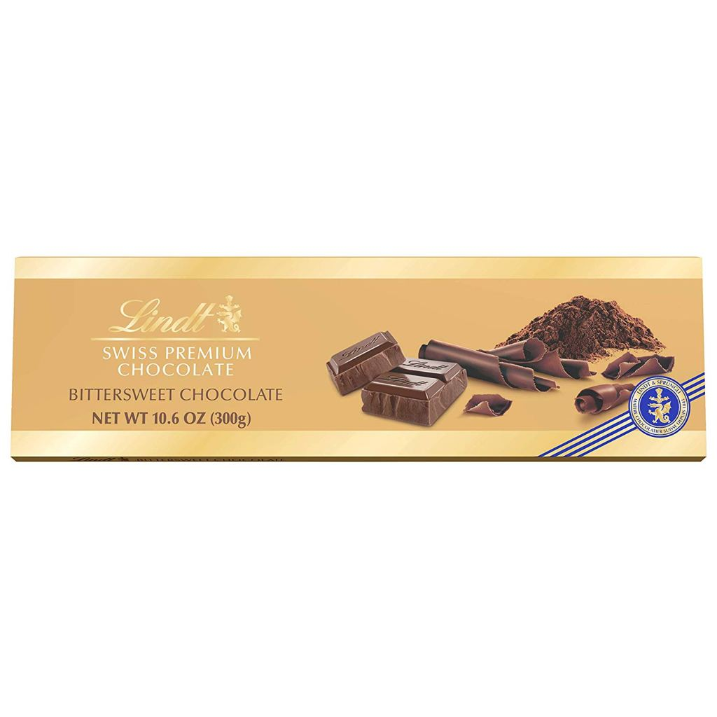 Lindt Swiss Bittersweet Chocolate Bar