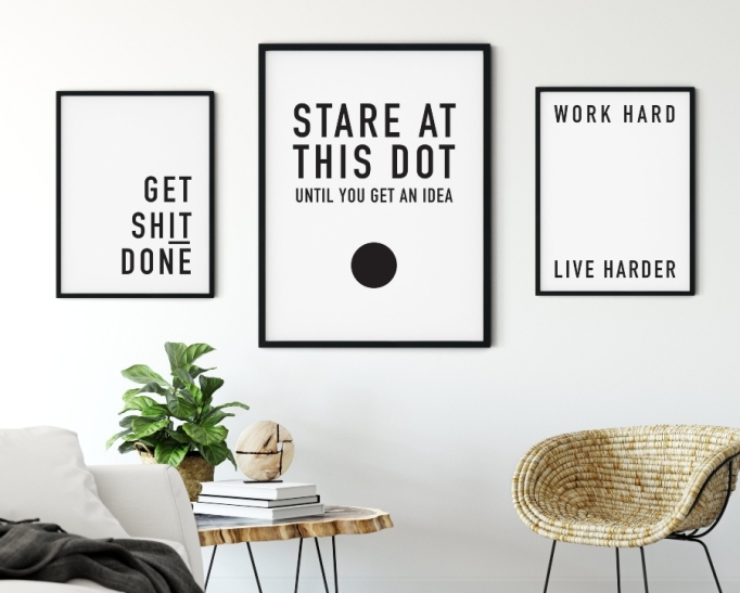 Motivational Prints.