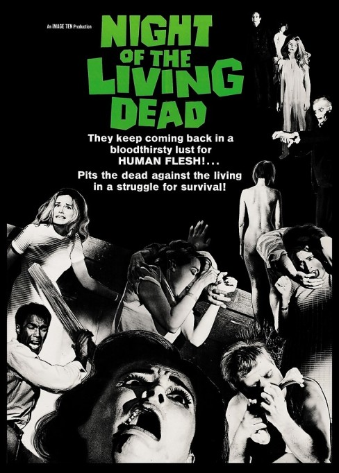 'Night of the Living Dead' (1968) movie poster.