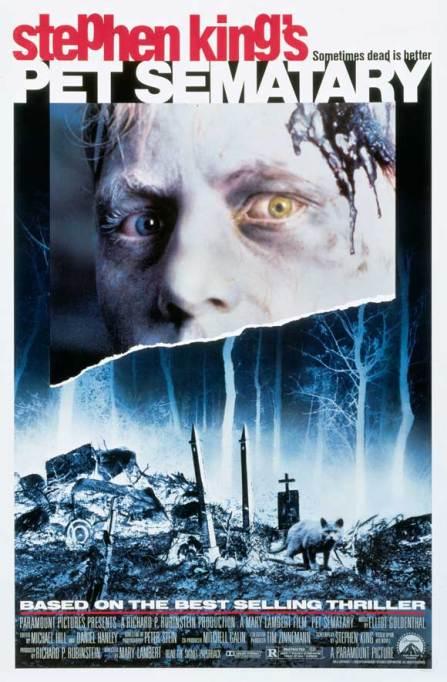 'Pet Sematary' (1989) movie poster.