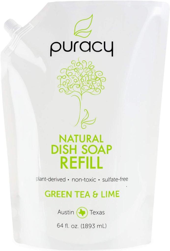 Puracy Natural Dish Soap Refill