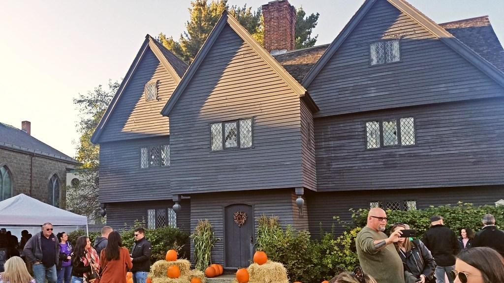 Salem's Witch House.