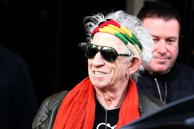 Celebrities Who Wrote Children's Books: Keith Richards