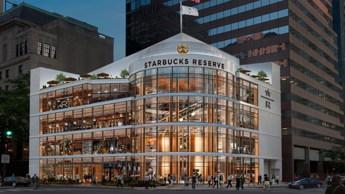 Starbucks' Largest Location Ever Is Opening & They Will Serve Cocktails