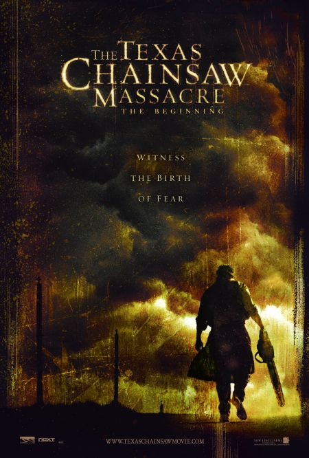 'The Texas Chainsaw Massacre: The Beginning' (2006) movie poster.