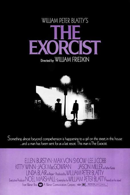 'The Exorcist' (1973) movie poster.