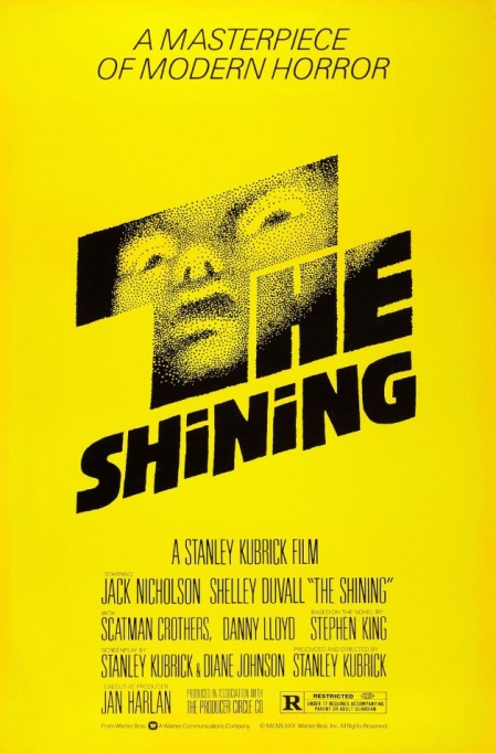 'The Shining' (1980) movie poster.