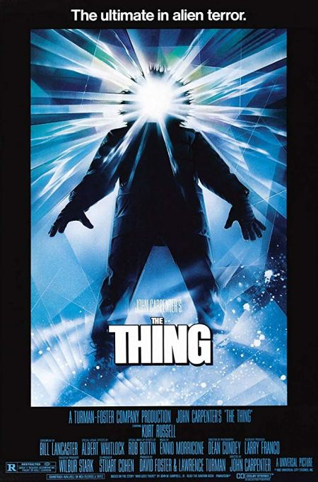 'The Thing' (1982) movie poster.