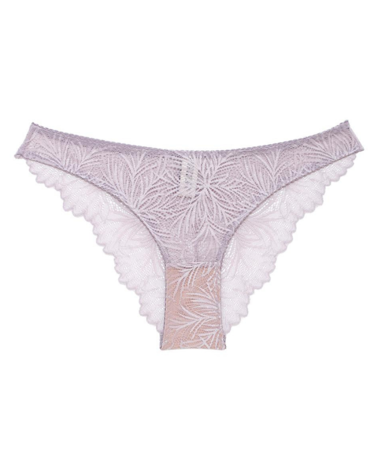 Underprotection Purple Lima Recycled Lace Bikini Undies