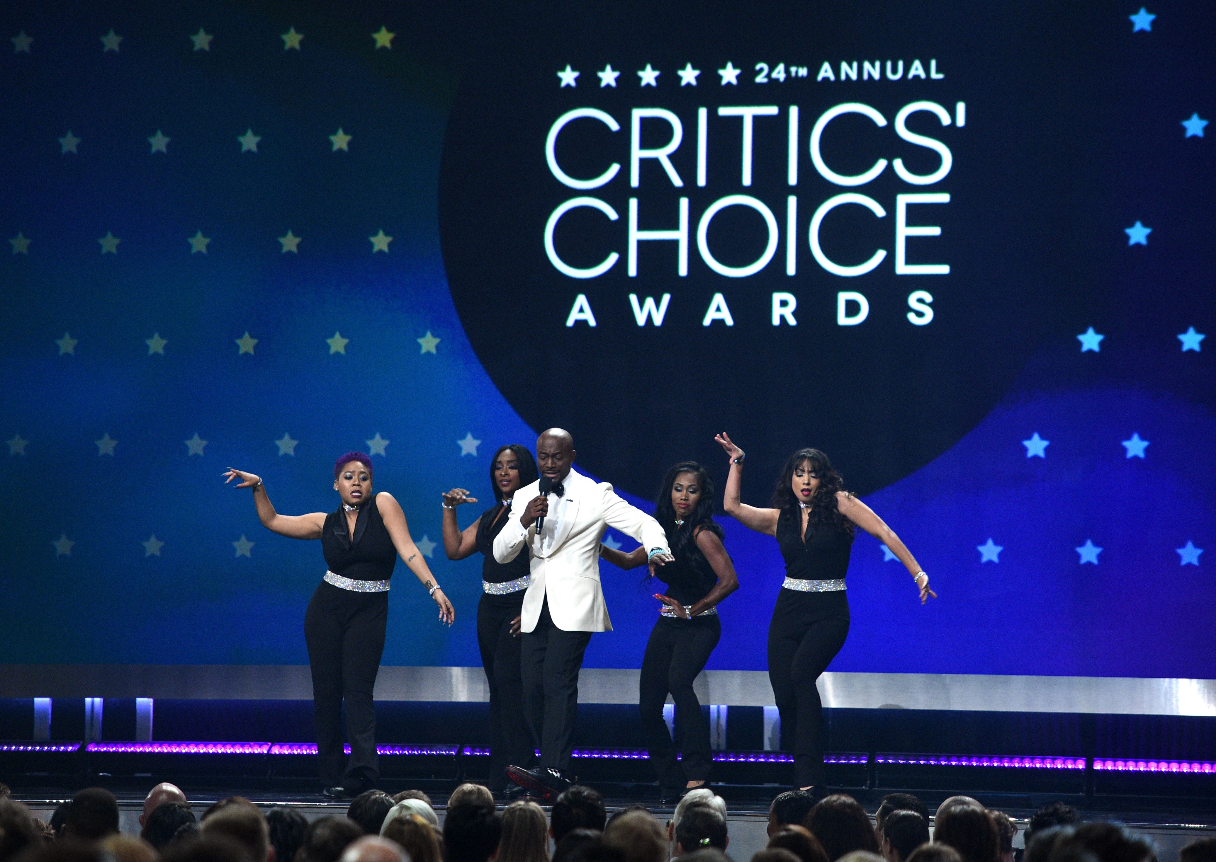 Taye Diggs24th Annual Critics' Choice Awards, Show, Barker Hanger, Los Angeles, USA - 13 Jan 2019