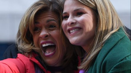 Hoda Kotb, Jenna Bush'Today' TV show,