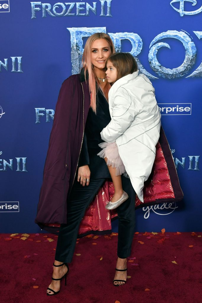 Ashlee Simpson and Jagger Snow Ross 'Frozen II' film premiere, Arrivals, Dolby Theatre, Los Angeles, USA - 07 Nov 2019
