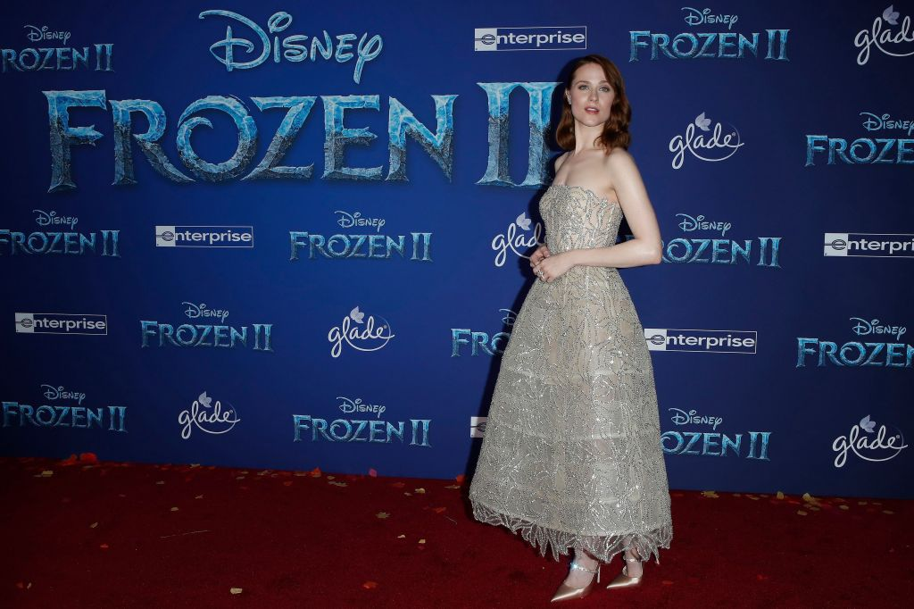 Evan Rachel Wood poses on the red carpet prior to the world premiere of to movie 'Frozen II' at the Dolby Theatre in Hollywood, Los Angeles, California, USA, 07 November 2019. The movie is to be released in US theaters on 22 November 2019. World premiere of 'Frozen II' in Hollywood, Los Angeles, USA - 07 Nov 2019