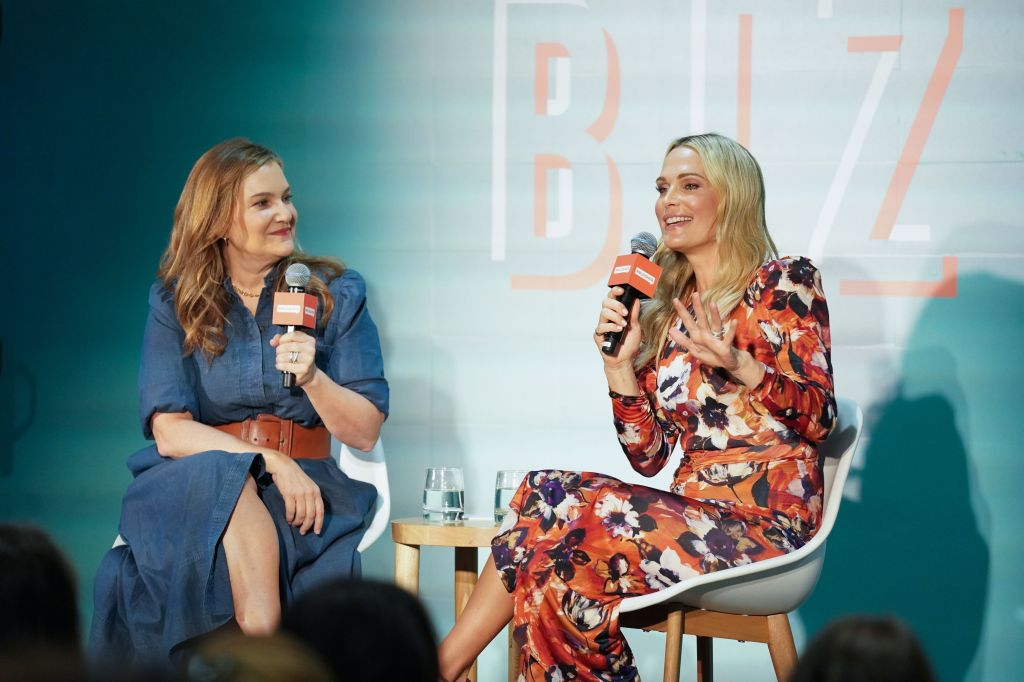 Krista Smith and Molly Sims'#BlogHer19 Biz' event, The Riveter, Los Angeles, USA - 09 Nov 2019