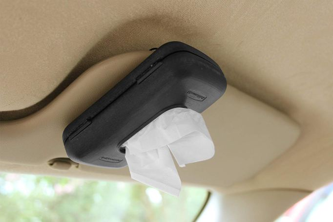 Car Hacks Every Parent Needs: Rubbermaid Travel Size Tissue Paper Dispenser