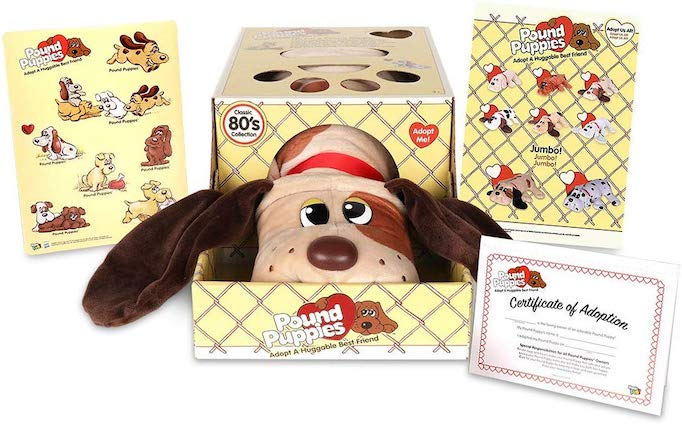 These Are The Absolute Hottest Gifts for Kids This Year: Basic Fun Pound Puppies Stuffed Animal