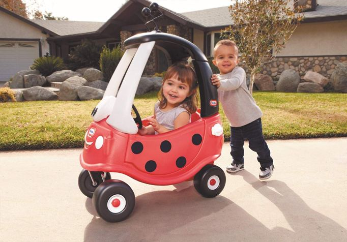 These Are The Absolute Hottest Gifts for Kids This Year: Little Tikes Ladybug Cozy Coupe