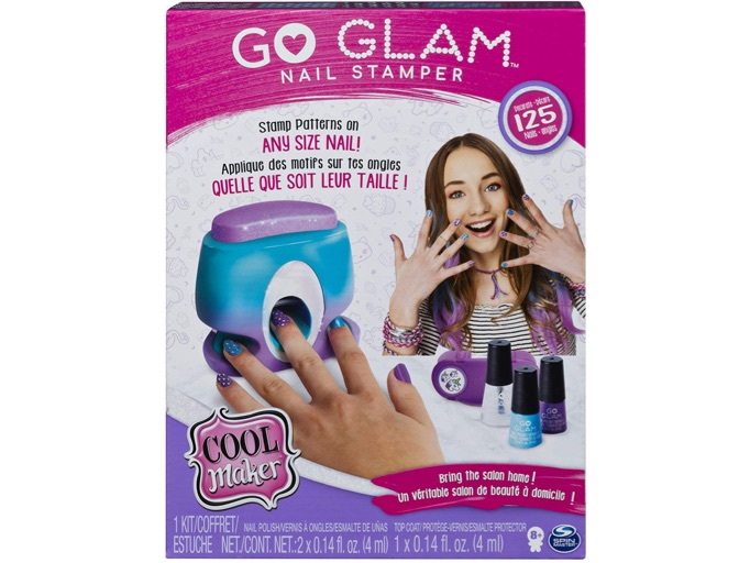 These Are The Absolute Hottest Gifts for Kids This Year: Cool MAKER GO Glam Nail Stamper