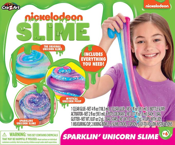 These Are The Absolute Hottest Gifts for Kids This Year: Nickelodeon Ultimate DIY Unicorn Arts & Crafts Slime Kit