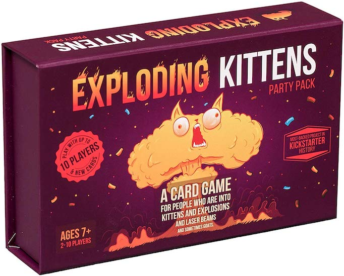 These Are The Absolute Hottest Gifts for Kids This Year: Exploding Kittens Card Game